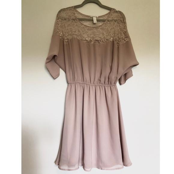 0c2733bc113 Charlotte Russe Dresses   Skirts - Charlotte Russe Lace   Chiffon Dress